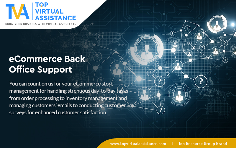 Ecommerce Back Office Support