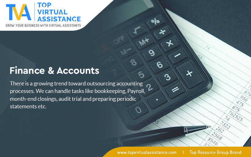 There is a growing trend toward outsourcing accounting processes.